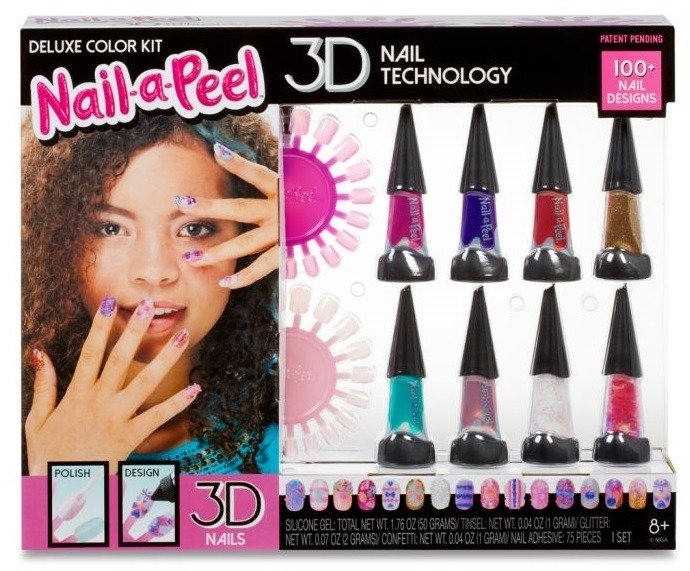 Nail-a-Peel The Deluxe Color Kit