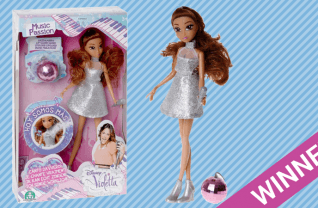 Disney Violetta Bambola Zingende Pop