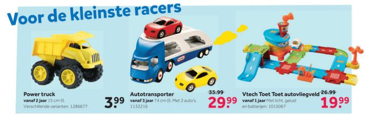 Intertoys - kleine racers