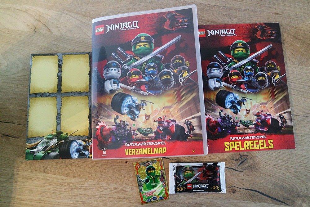 LEGO NINJAGO Ruilkaartenspel Inhoud