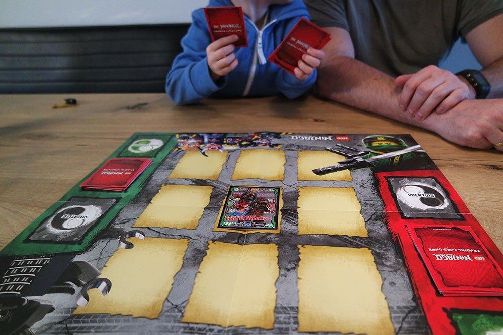 LEGO NINJAGO Ruilkaartenspel-spelen