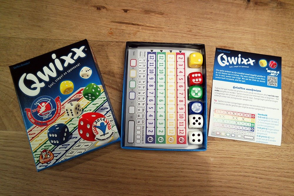 Qwixx het dobbelspel