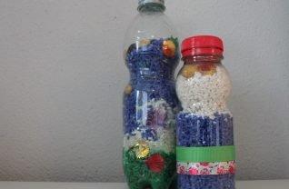 Sensory bottles maken