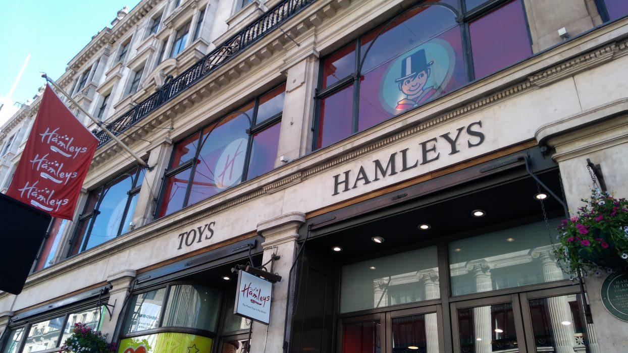 Speelgoedwinkels in Londen