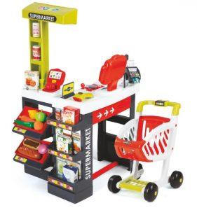 Smoby Supermarkt met boodschappenwagen