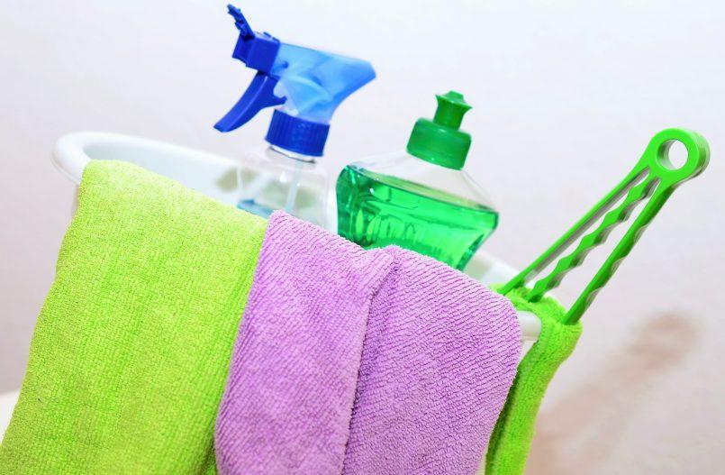 Sepeelgoed schoonmaken