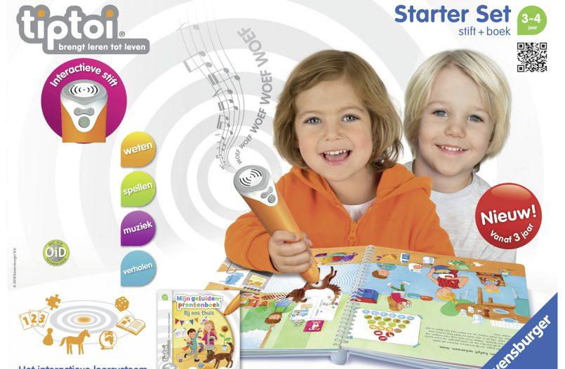 Tiptoi Startersset - Spelletjes voor kleuters