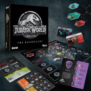 Jurrassic World bordspel