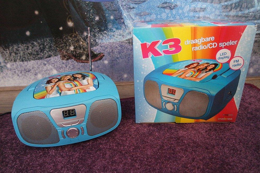 K3 cd-speler