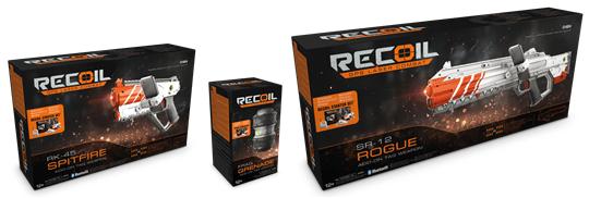 lasergamespel Recoil
