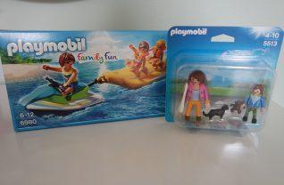 PLAYMOBIL Jetski met bananenboot