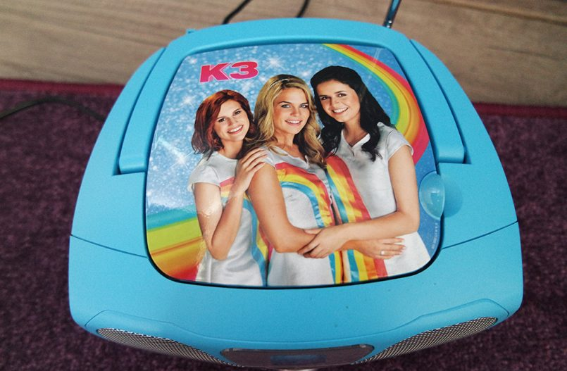 ervaring K3 cd-speler