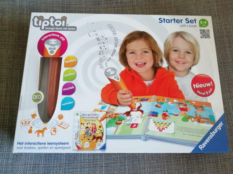 Tiptoi Starter Set 'Bij ons thuis'