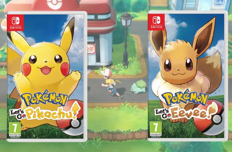 Let's Go Pikachu - Let's Go Eevee