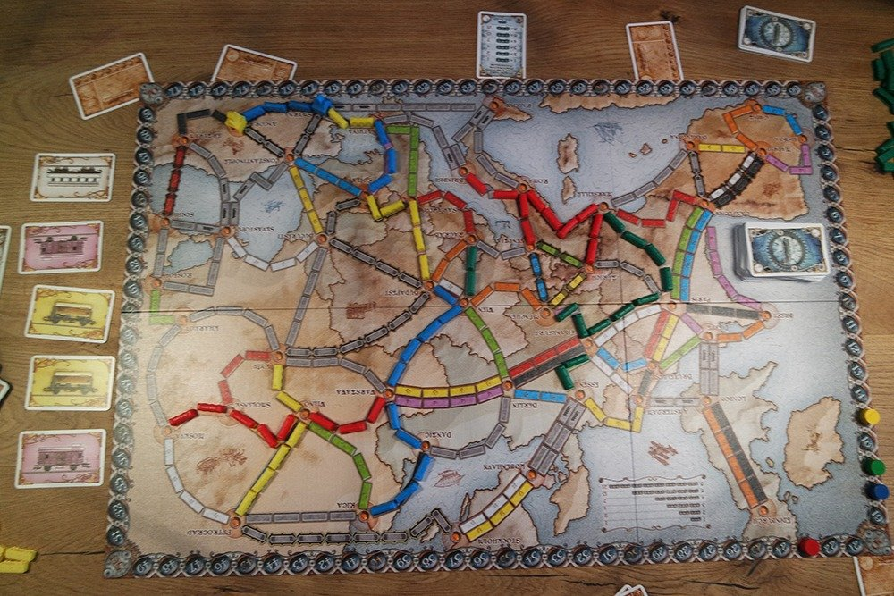 Ticket to Ride Europe Aanrader
