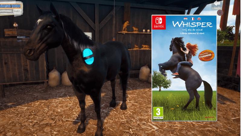 Whisper voor op de Nintendo Switch