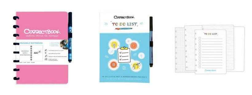 Correctbook schriften