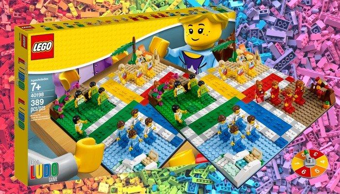 Mens Erger Je Niet LEGO