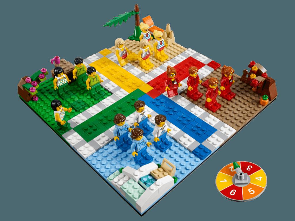 Mens Erger Je Niet LEGO het bordspel