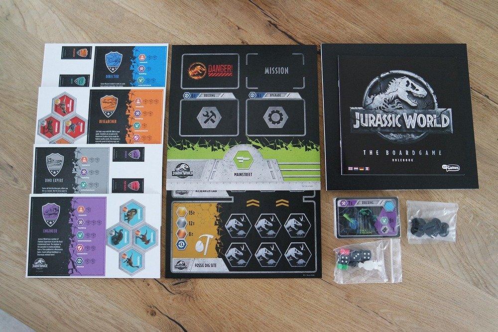 Het Jurassic World bordspel