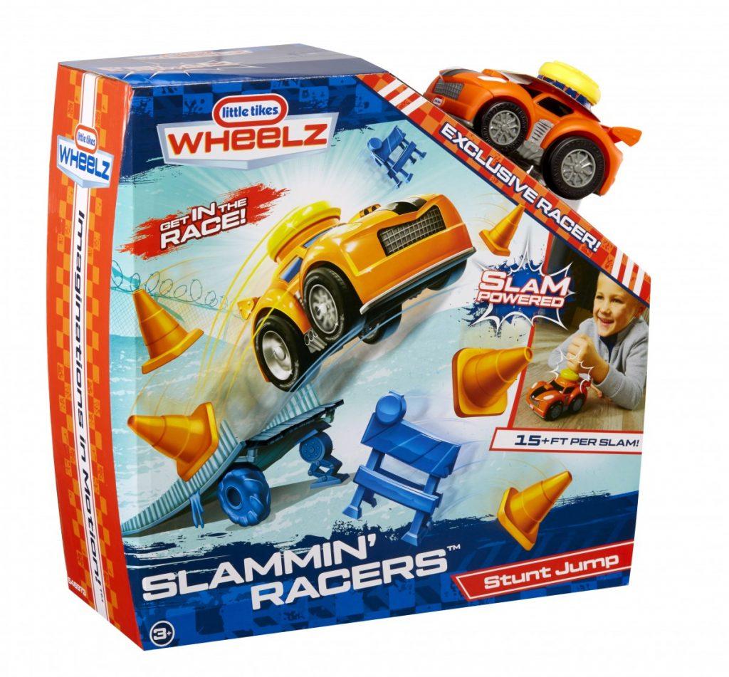 Slammin Racers Stunt Jump