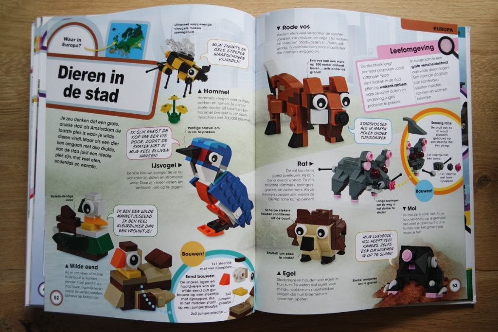 LEGO dierenatlas