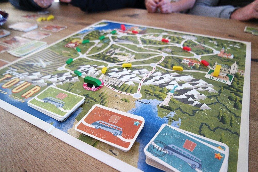 The Great Tour Tactic bordspel review