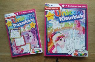 Denksport Unicorn Kleurblok puzzelblok