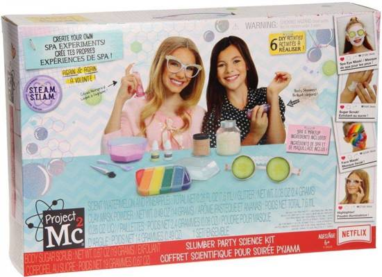 Project Mc² Slumber Party Science Kit