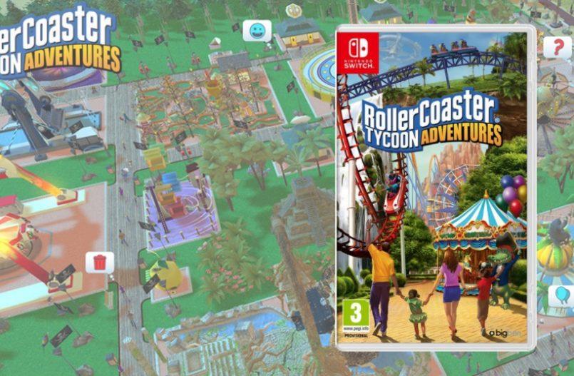 Rollercoaster Tycoon Adventures op de Nintendo Switch - Alles Over