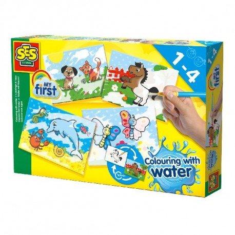 SES Creative My first - Kleuren met water