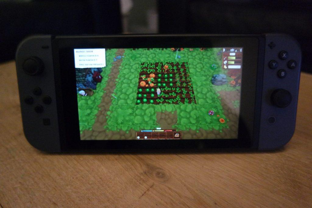 Boerderijleven voor op de Nintendo Switch