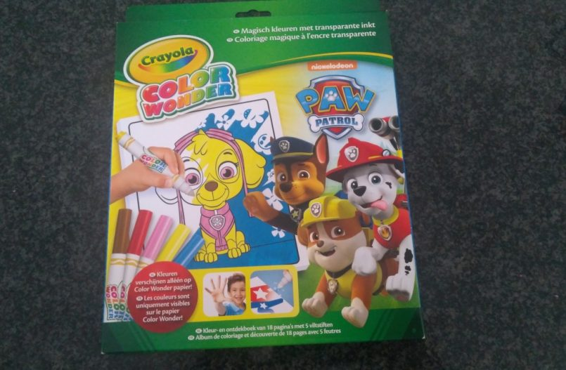 Color Wonder Box set Paw Patrol