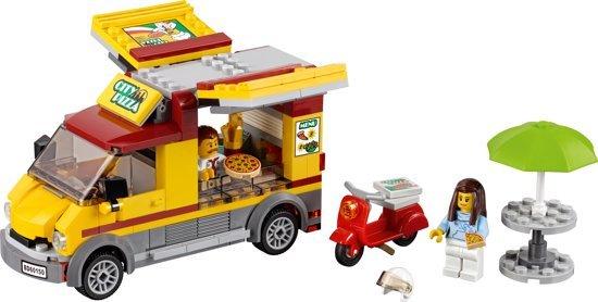 LEGO City Pizza Bestelwagen