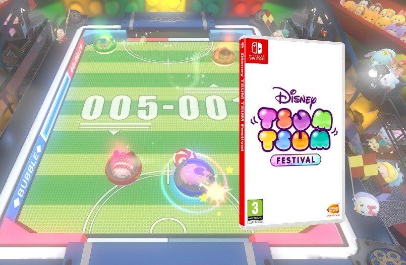 Disney Tsum Tsum Festival voor de Nintendo Switch