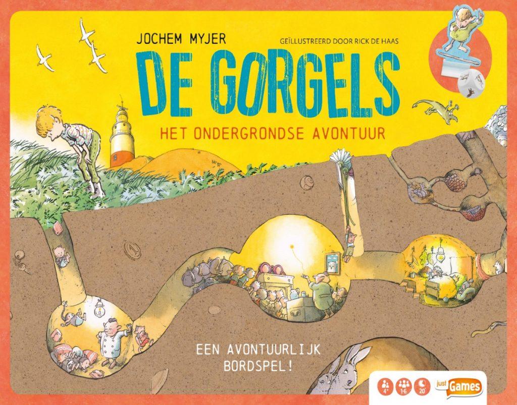 De Gorgels het bordspel Jochem Myjer