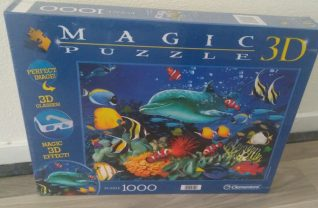 Clementoni Magic puzzel 3d