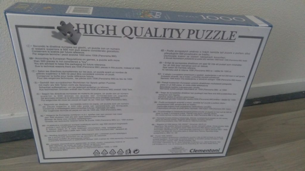 Clementoni Magic puzzel 3d