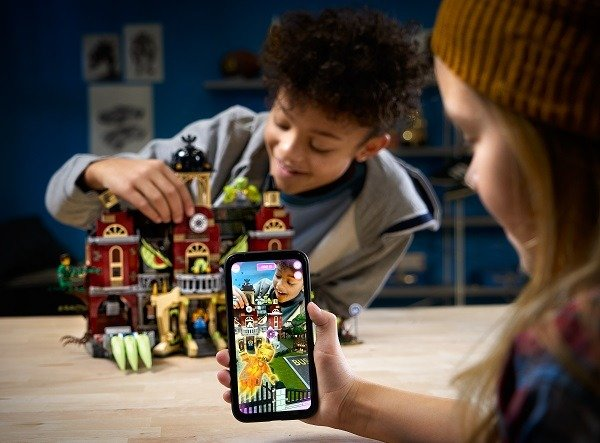 Augmented reality met LEGO
