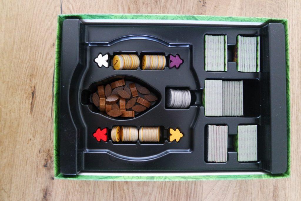 Cacao - inhoud in de doos