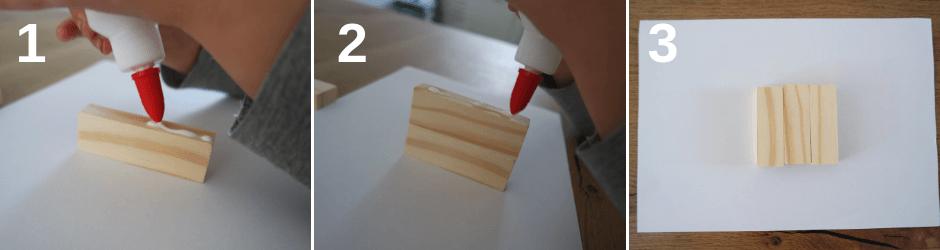 Poppenhuis meubels maken - Stoel