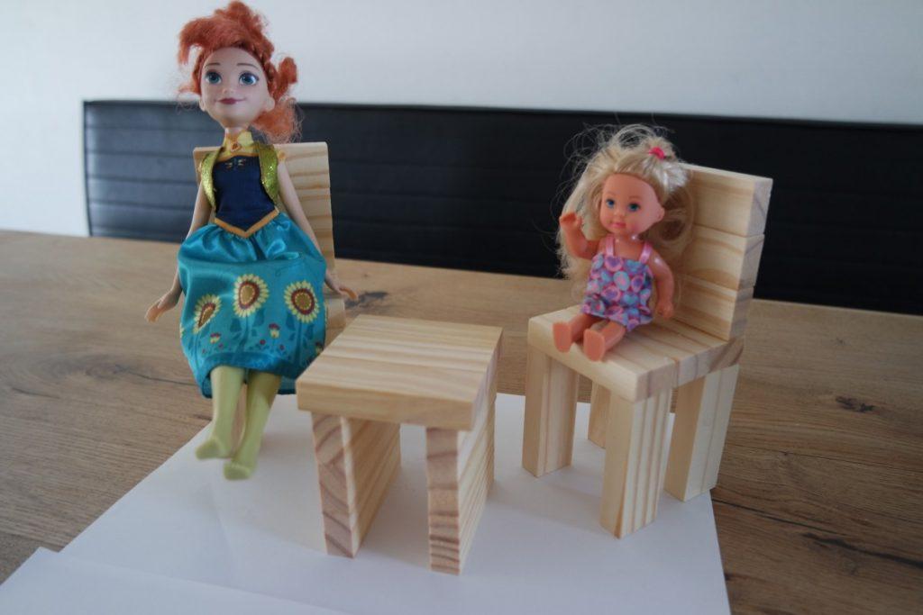 DIY poppenhuis meubels