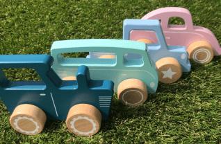 Favoriete speelgoed van Luke (1,5 jaar)