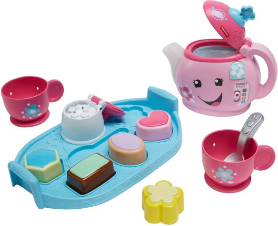 Fisher-Price pratende theepot