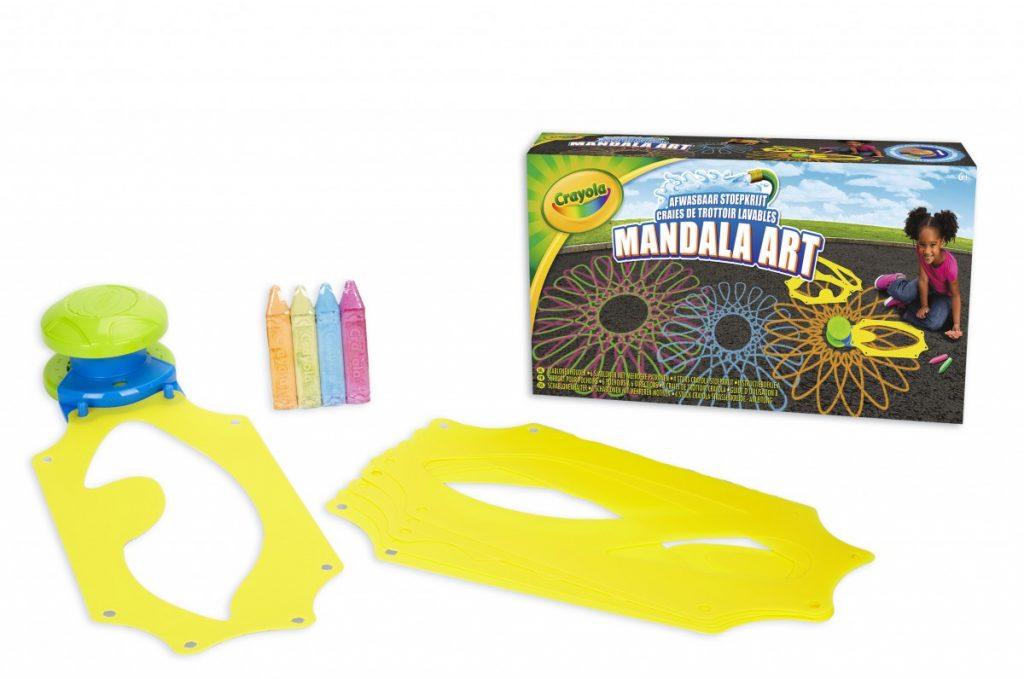 Crayola Mandala