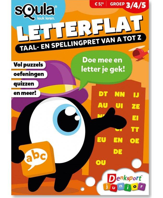 Het Denksport Squla Letterflat vakantieboek