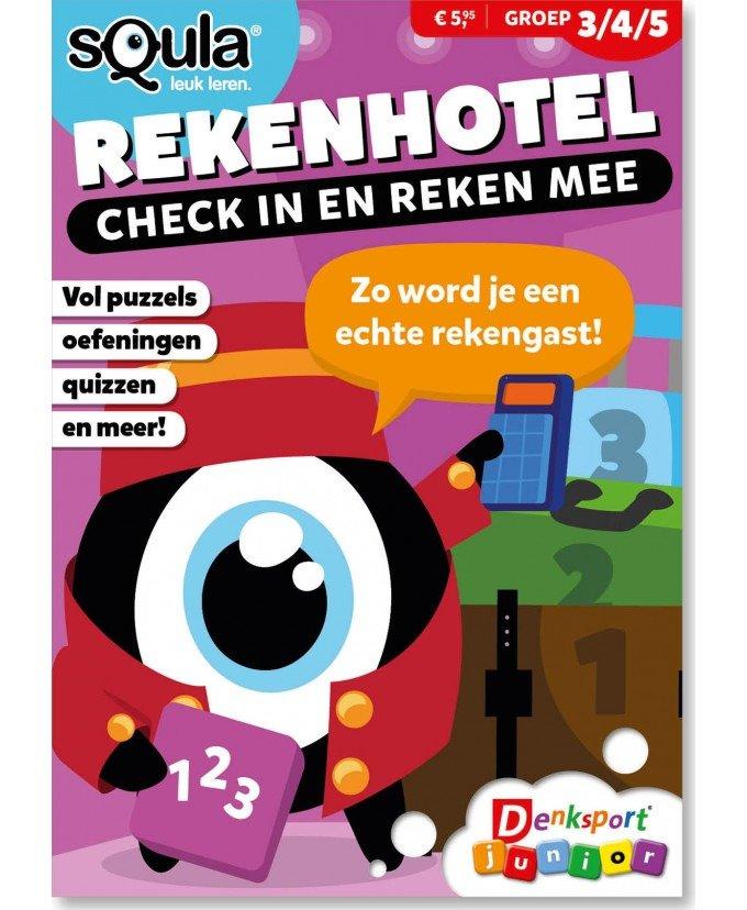 Denksport Squla Rekenhotel vakantieboek