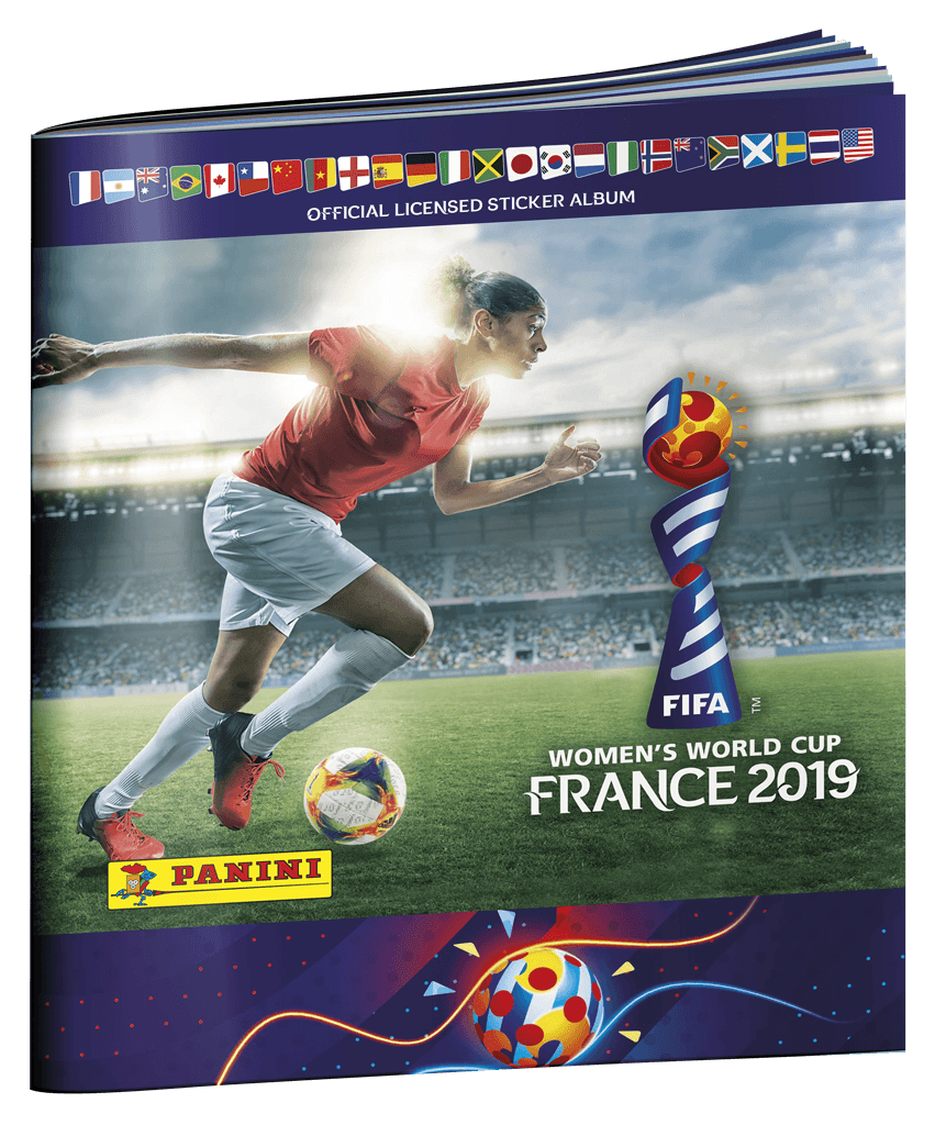 FIFA Women's World Cup Panini stickeralbum