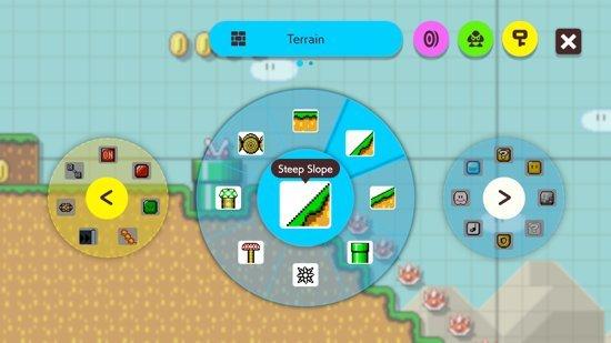 Super Mario Maker 2 bouwen
