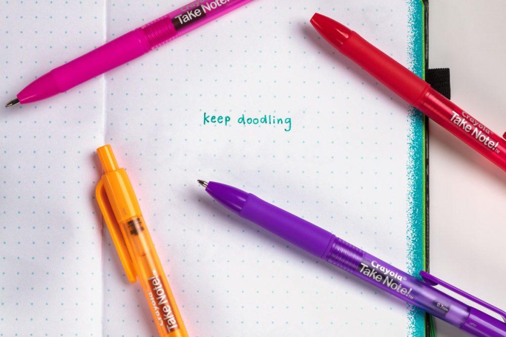 Take Note Stiften En Pennen Van Crayola Alles Over Speelgoed